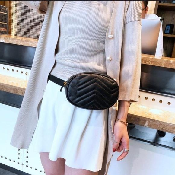 Evolving Always Handbags - New Black Waist Bag Compact But Roomy